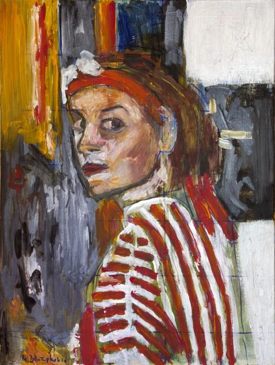 My portrait of my wife
