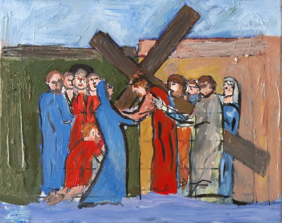 The way of the cross – Fourth station