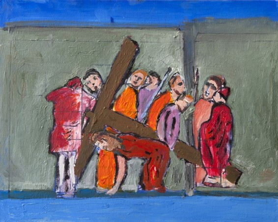 The way of the cross – Third station