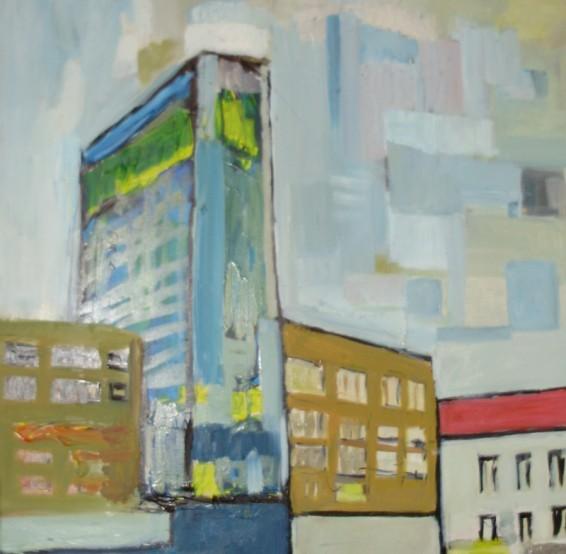 Skyscraper on the main square